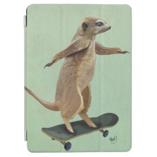 Meerkat On Skateboard 3 iPad Air Cover