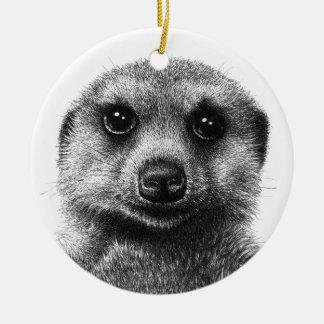 Meerkat Ornament
