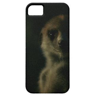 Meerkat oscuro - caso del iPhone 5 iPhone 5 Case-Mate Carcasa