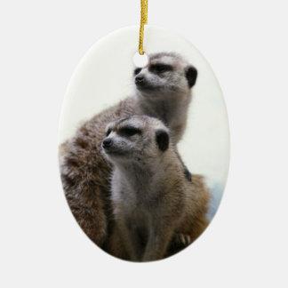 Meerkat Pair Ornament
