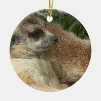 Meerkat Photo Ornament