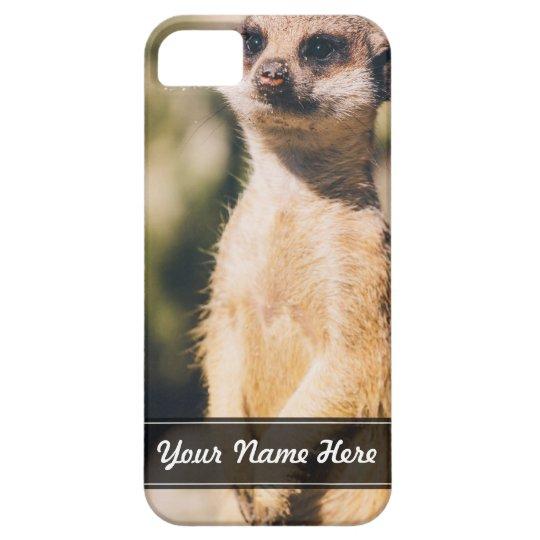 Meerkat Portrait iPhone SE/5/5s Case