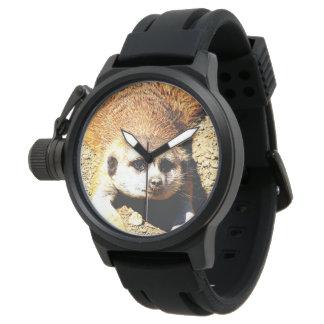 Meerkat precioso 415P Reloj