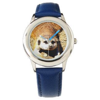 Meerkat precioso 415P Relojes De Pulsera