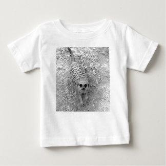 Meerkat que mira para arriba de imagen de la tshirts