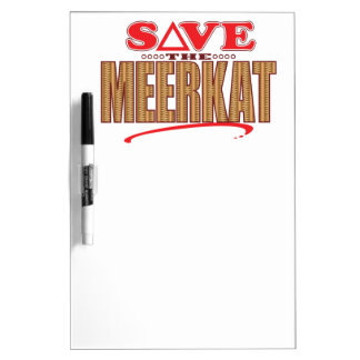 Meerkat Save Dry-Erase Board