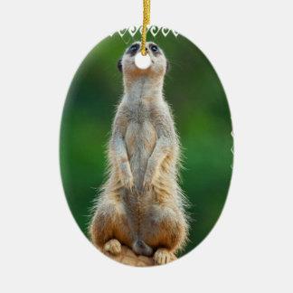 Meerkat Sentry Ornament