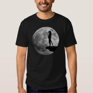 meerkat suricat erdmännchen mond moon tee shirt