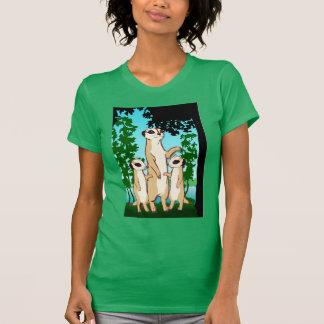 Meerkat T shirt, Family walk Tees