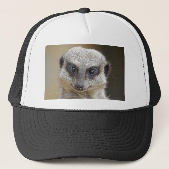 Meerkat Up Close Trucker Hat