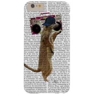Meerkat with Boom Box Ghetto Blaster 2 Barely There iPhone 6 Plus Case