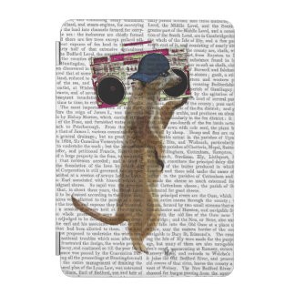 Meerkat with Boom Box Ghetto Blaster 2 iPad Mini Cover
