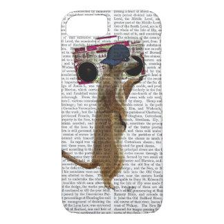 Meerkat with Boom Box Ghetto Blaster 2 iPhone 7 Case