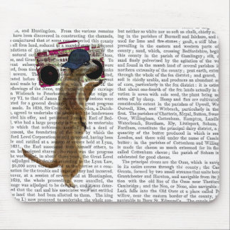 Meerkat with Boom Box Ghetto Blaster 2 Mouse Pad