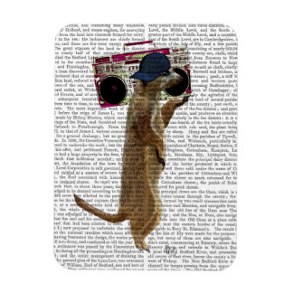 Meerkat with Boom Box Ghetto Blaster 2 Rectangular Photo Magnet