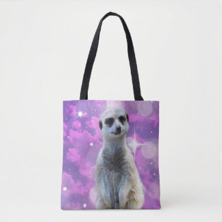 Meerkat With Sparkle, Tote Bag