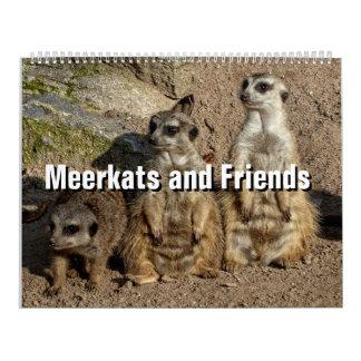 Meerkats and Friends 2017 Calendar