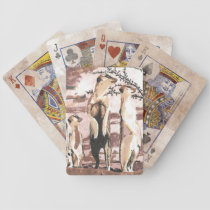 Meerkats Bicycle Playing Cards