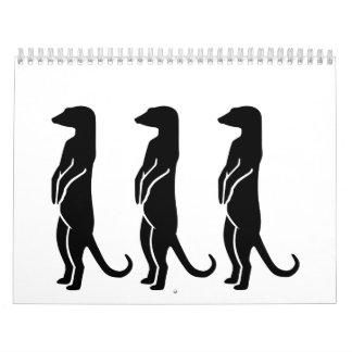 Meerkats Calendar