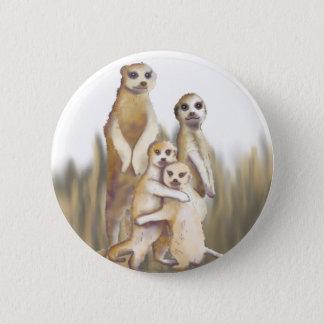 Meerkats Pinback Button