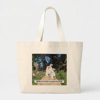 Meerkats United Against Polution Bags
