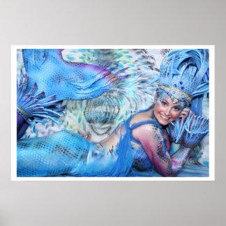 Meermaid virgen de mar print imprimes poster bodyp