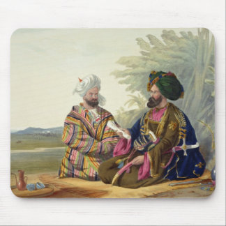 Meerz Fyze, an Oosbeg Elchee, or Ambassador, plate Mouse Pad