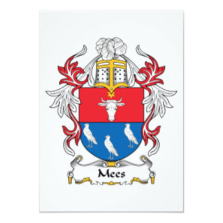 Mees Family Crest Card