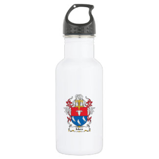 Mees Family Crest Water Bottle