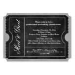 Meet and Greet Business Event Ticket Invitations