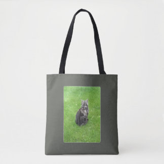 Meet Cybele, American shorthair Tote Bag