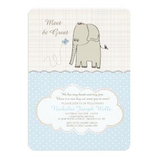 Meet & Greet Baby Boy Invitation
