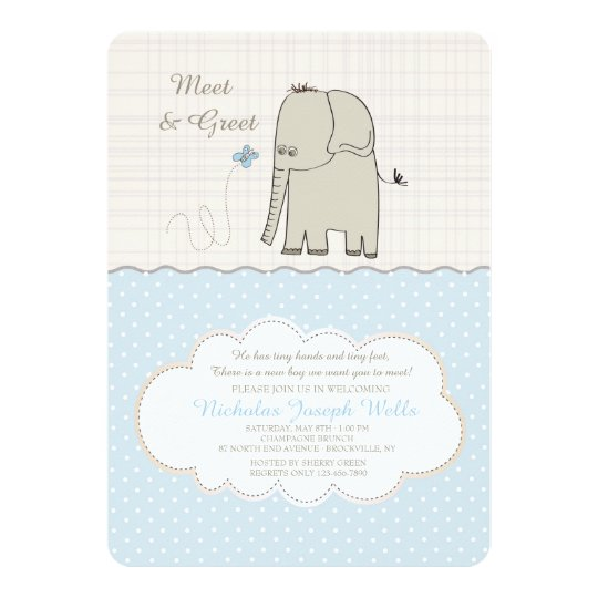 Meet greet baby boy invitation zazzle meet greet baby boy invitation m4hsunfo