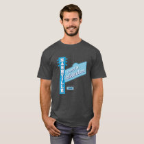 Meet-in Nashville men's dark T T-Shirt