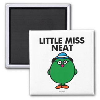 Meet Little Miss Neat Magnet