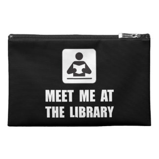 Meet Me At Library Travel Accessories Bag