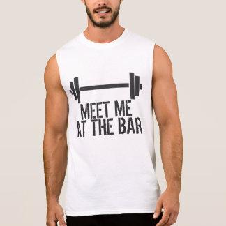 Meet Me at the Bar Sleeveless Shirt