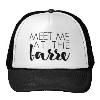 Meet Me at the Barre | Ballet Quote Trucker Hat