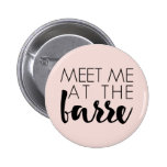 Meet Me at the Barre | Blush Pink Ballet Pinback Button