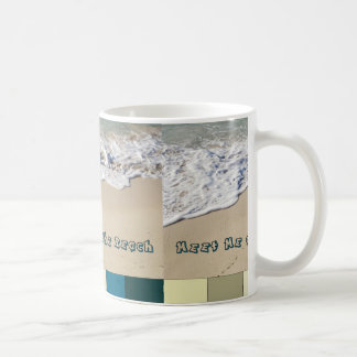 Meet Me at the Beach Coffee Mug
