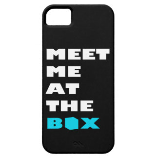 Meet Me At The Box - Weight Lifting Inspiration iPhone SE/5/5s Case