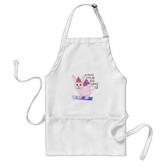 Meet Me At The Bunny Hill Adult Apron