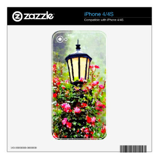 Meet Me at the Lamppost Skin For The iPhone 4