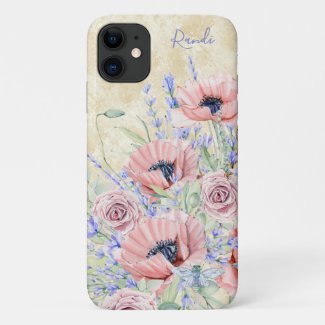 Meet Me in Provence Personalized iPhone Case