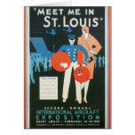 Meet Me in St. Louis Vintage Travel Poster Artwork