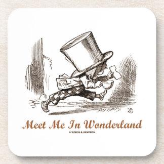 Meet Me In Wonderland (Mad Hatter Running) Coaster