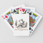 Meet Me In Wonderland (Mad Hatter Running) Playing Cards