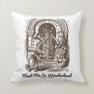 Meet Me In Wonderland Queen Alice Frog Entrance Pillows
