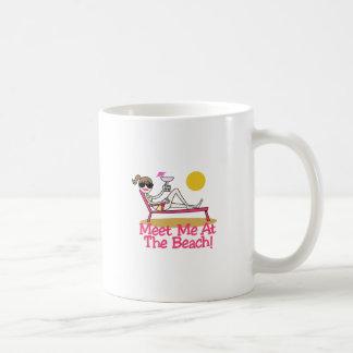 Meet Me Classic White Coffee Mug