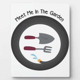 Meet Me Photo Plaque